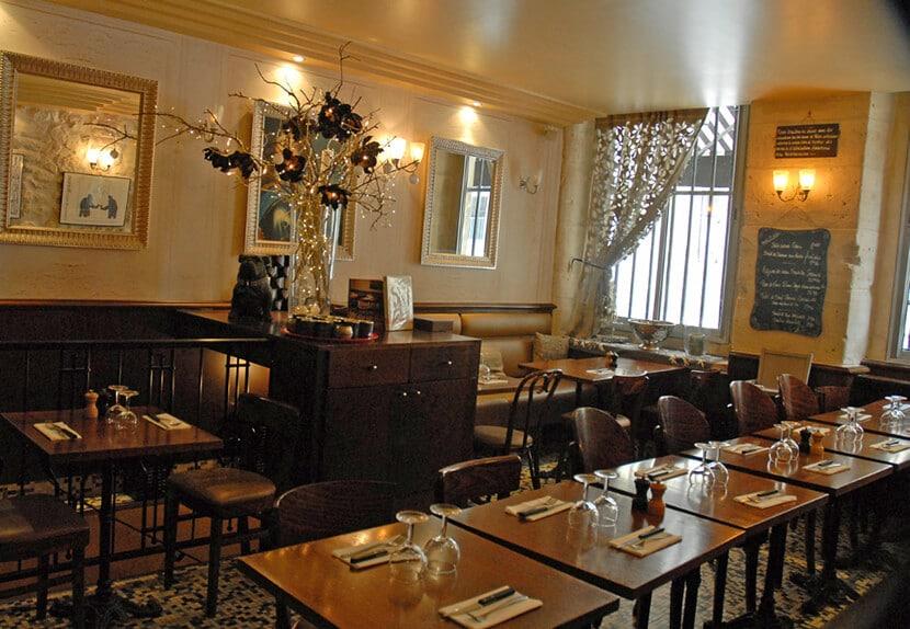 ביסטרו ואלואה, פנים המסעדה (צילום: יפה עירון-קוץ)