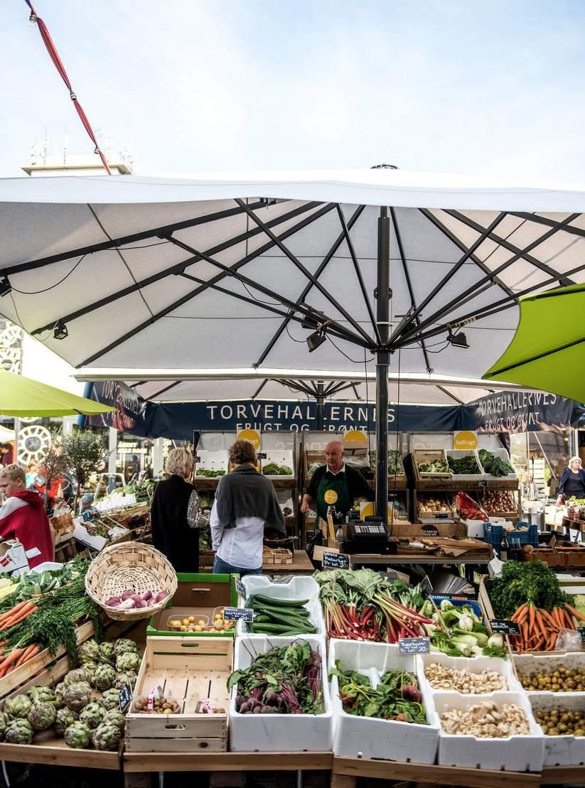שוק ירקות קופנהגן (צילום: סיון אסקיו, Sivan Askayo)