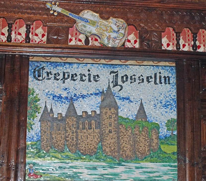 שלט פסיפס של קרפרי ז'וזלן (צילום: יפה עירון-קוץ)