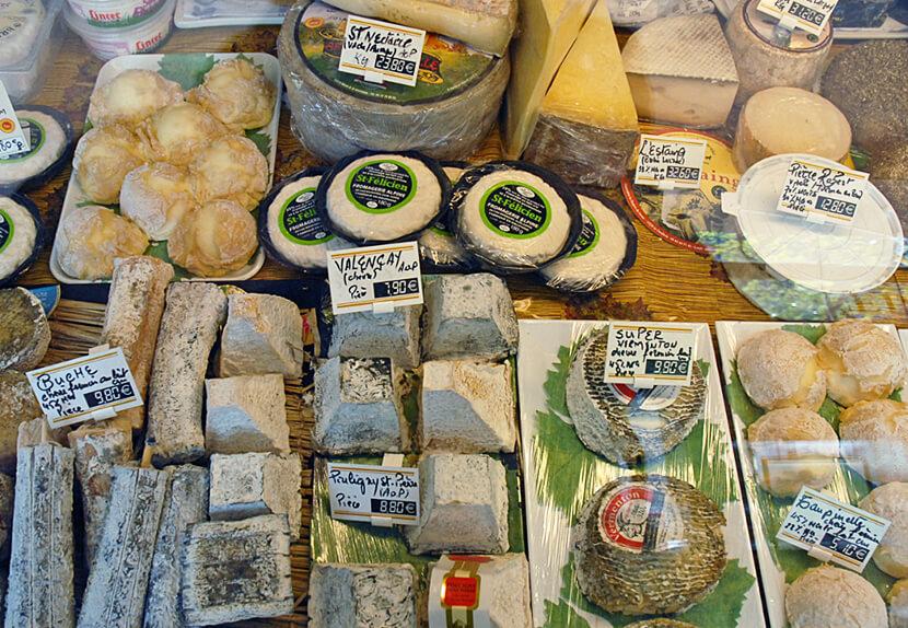 גבינות של פיל או פרומאז' (צילום: יפה עירון-קוץ)