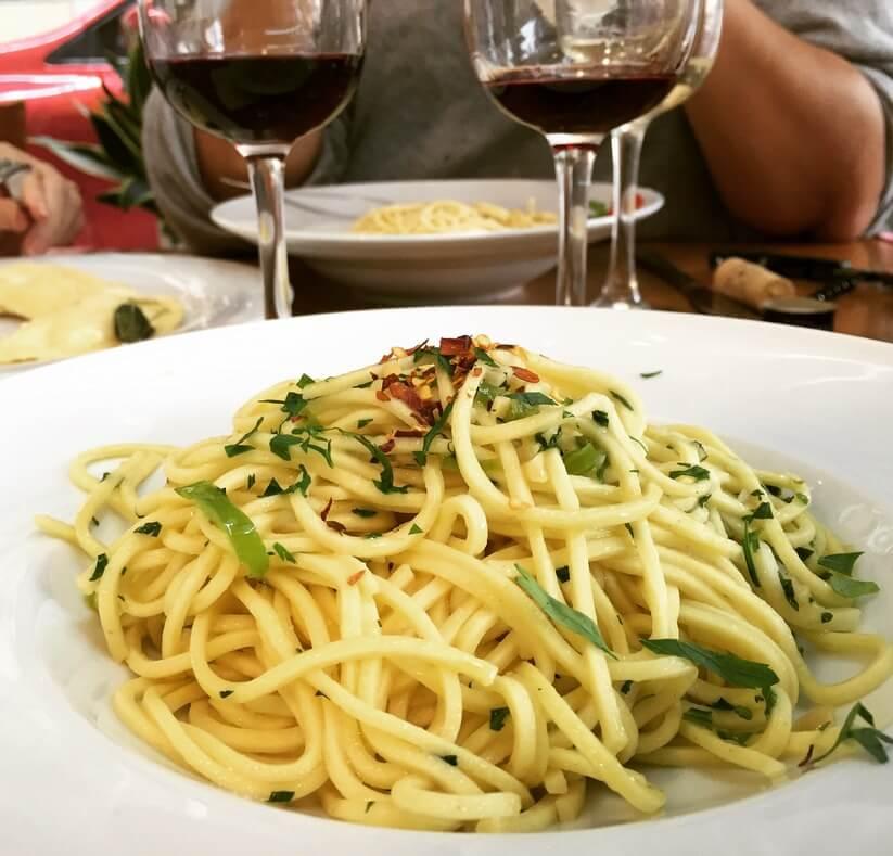 ספגטי במסעדת איל פסטיו (צילום: רועי ירושלמי)