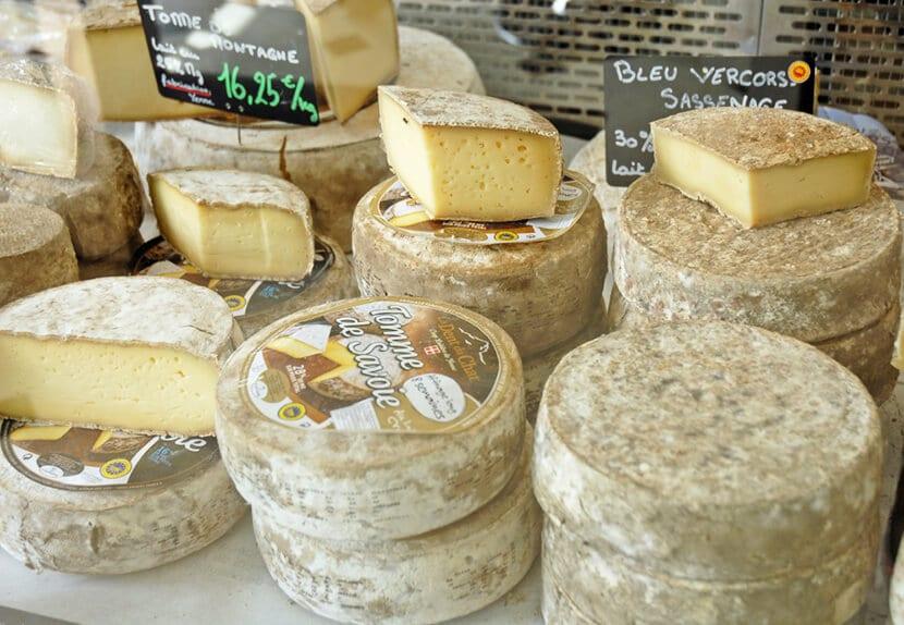 גבינות של לה קואופ (צילום: יפה עירון-קוץ)