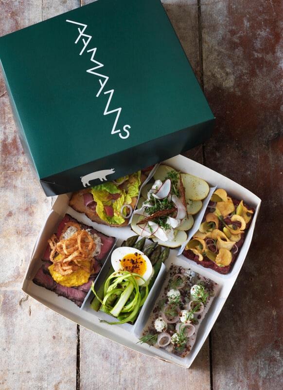 סמורברו במסעדת אומאנס - Aamanns (צילום: יחסי ציבור)