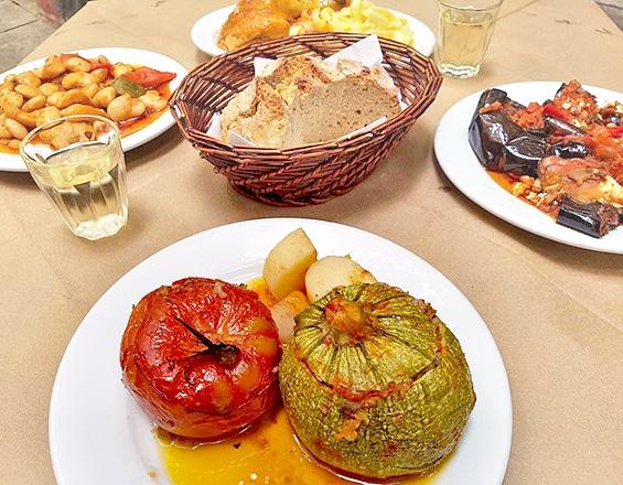 ממולאים טבעוניים בטברנה רוזליה. צילום מתוך אתר המסעדה