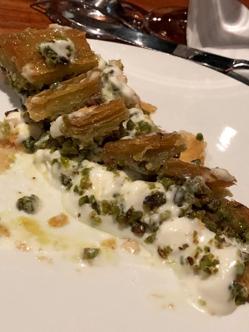 בקלאבה במסעדת נוסר-אט מיאמי (צילום: רפי אהרונוביץ')