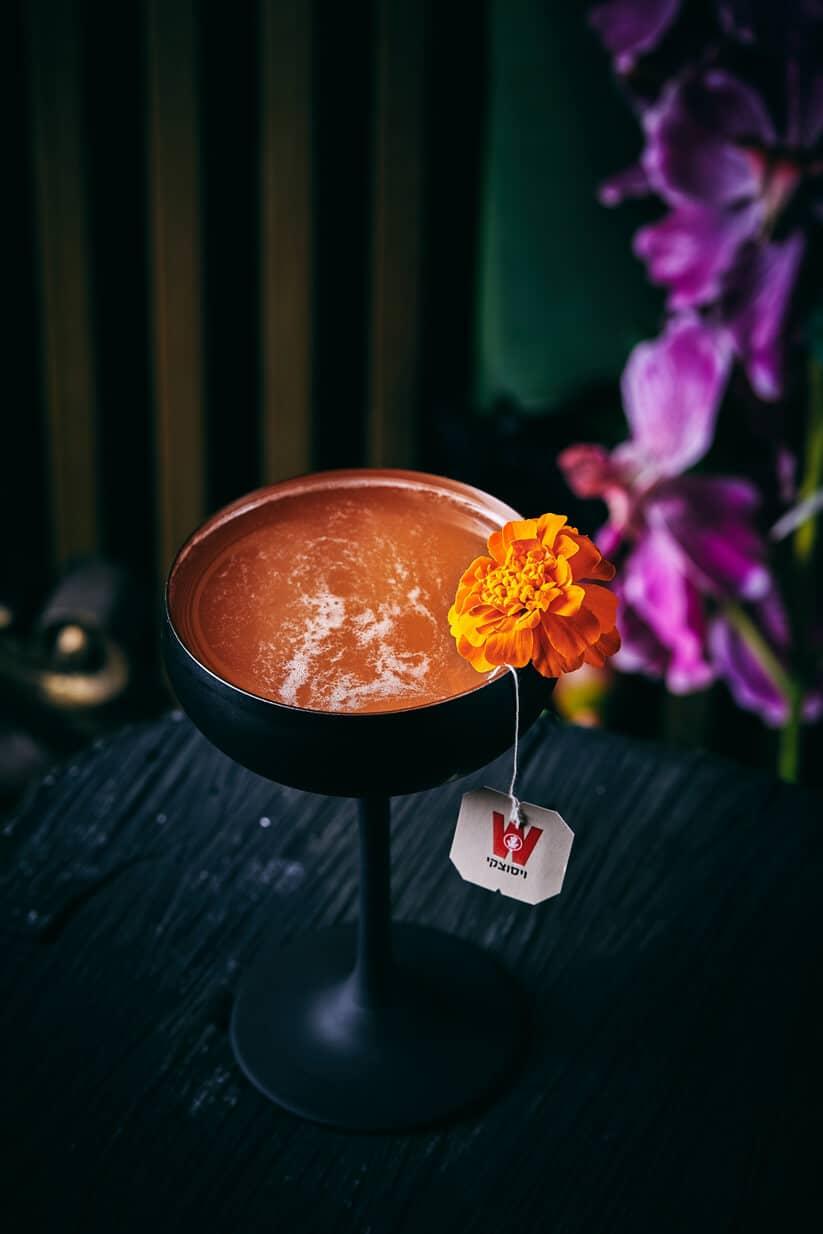 קוקטייל ראסטי נייל בנגקוק סטייל במסעדת ניטאן תאי (צילום: אמיר מנחם, רקס תעשיות)