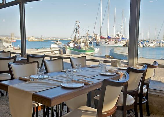 הנוף ממסעדת אלמרסא (צילום מתוך אתר המסעדה)