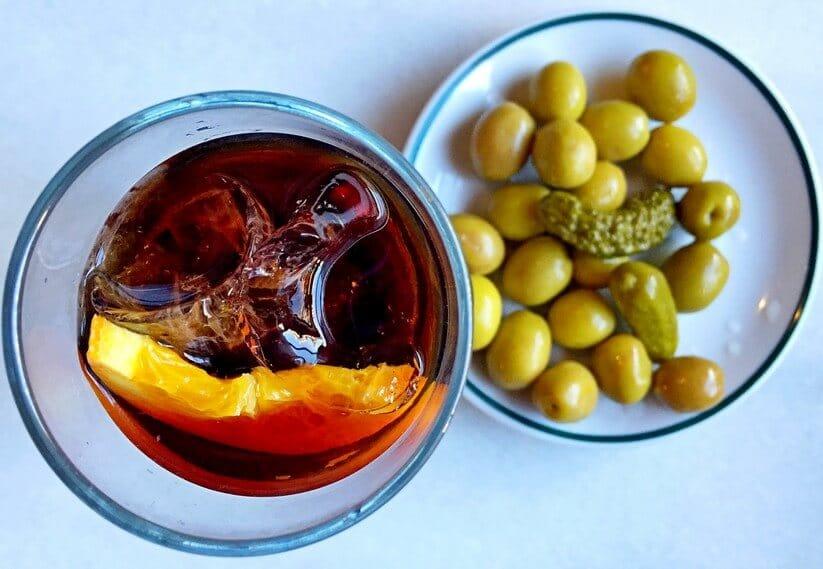 כוס עם ורמוט, מדריד (צילום: רועי ירושלמי)