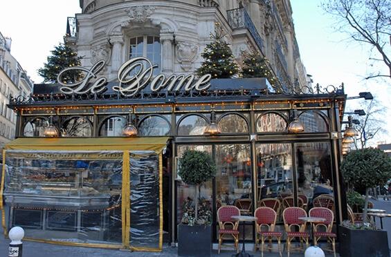 מסעדת לה דום, פריז. צילום: יפה עירון-קוץ