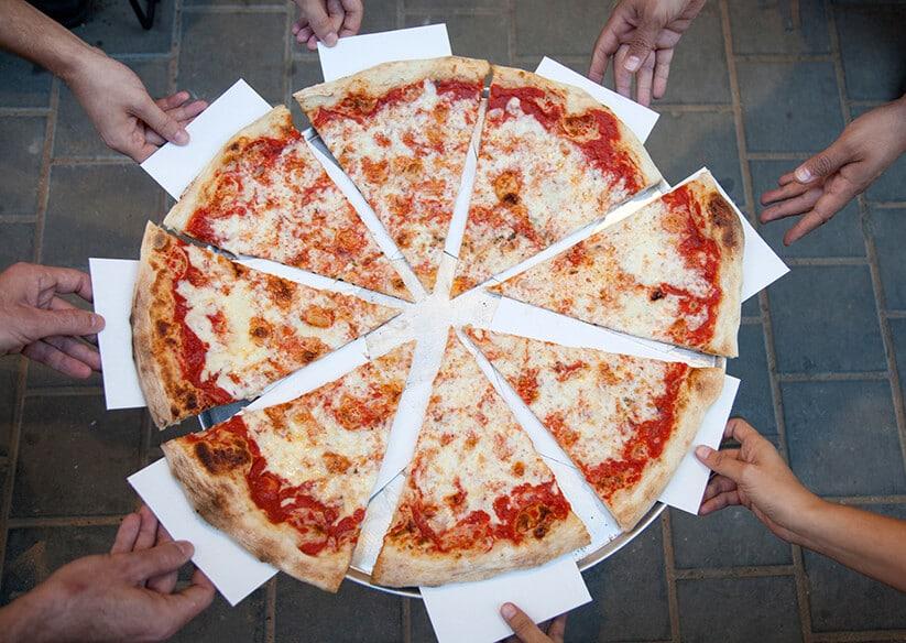 פיצה ברוקלין (צילום: אלון ראובני)